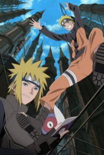 Naruto Shippuuden The Movie 4: The Lost Tower - Naruto Shippuuden The Movie 4 - The Lost Tower